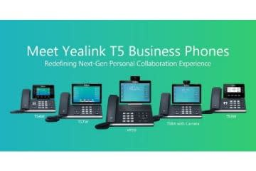 yealink T5 ip phone series